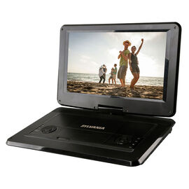 Sylvania 15.6-in Portable DVD Player - Black - SDVD1566