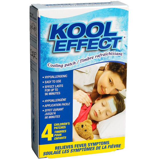 Kool Effect Cooling Patch Childs - 4's
