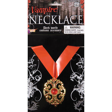 Halloween Vampire Necklace