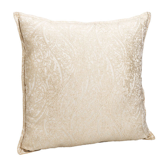 London Drugs Jacquard Cushion - Beige