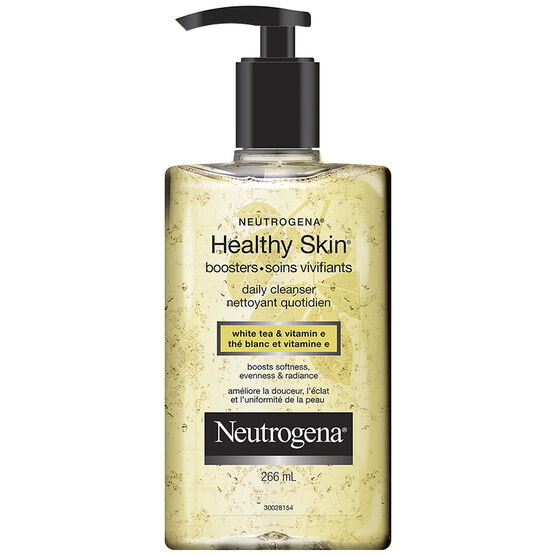 Neutrogena Healthy Skin Booster Daily Cleanser - White Tea and Vitamin E - 266ml