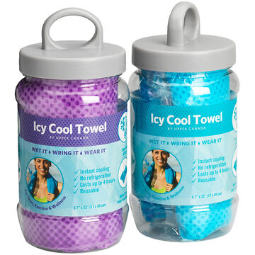 THERAWELL ICY COOL TOWEL     ASSORTED