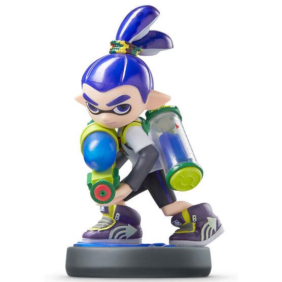 Nintendo Amiibo Splatoon Inkling Boy