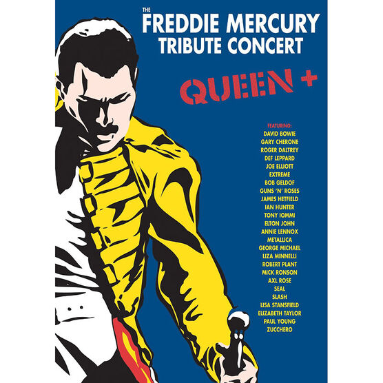 Freddie Mercury Tribute Concert - DVD