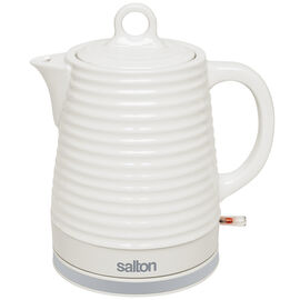 Salton Ceramic Kettle - White - 1.2L