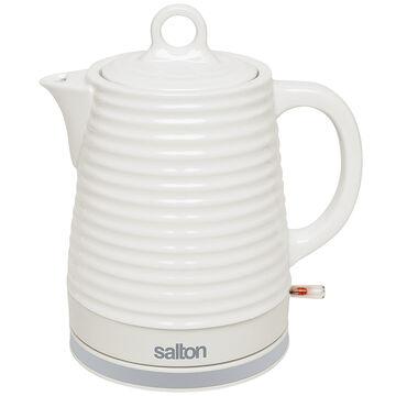 Salton Ceramic Kettle - White - 1.2L