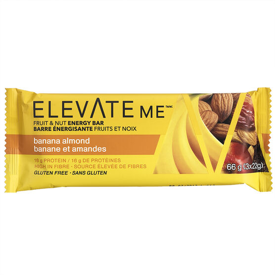 Elevate Me Bar - Banana Almond - 66g