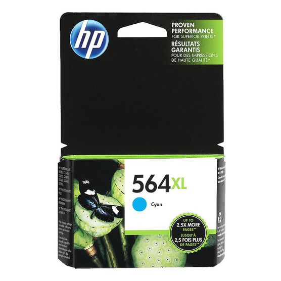 HP 564XL Ink Cartridge - Cyan