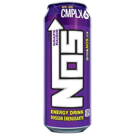 NOS Energy Drink - Grape - 473ml