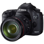 Canon EOS 5D Mark III with 24-105mm IS USM Lens - 5260B010