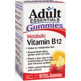 Adult Essentials Metabolic Vitamin B12 Gummies - 90's