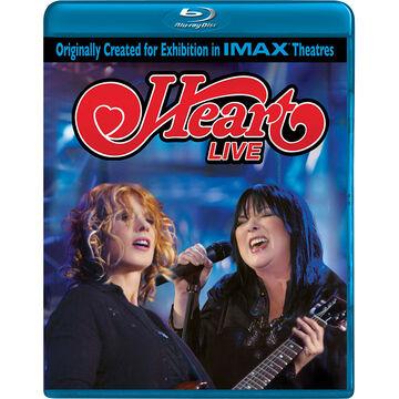 Heart: Live - Blu-ray