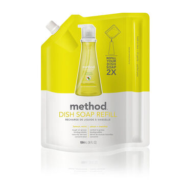 Method Dish Soap Refill - Lemon Mint - 1064ml