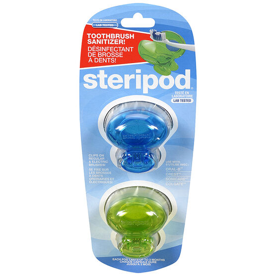 Steripod Tooth Brush Sanitizer - 2's