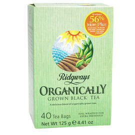 Ridgways Organic Black Tea - 40's