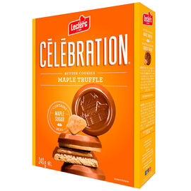 Leclerc Celebration Butter Cookies - Truffle - 240g