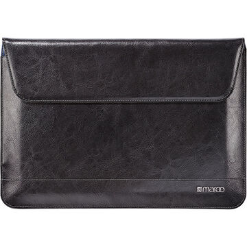 Maroo Leather Sleeve for Microsoft Surface 3 - Black - MR-MS3206