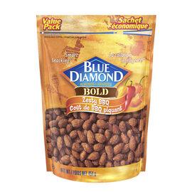 Blue Diamond Almonds Bold - Zesty BBQ - 454g