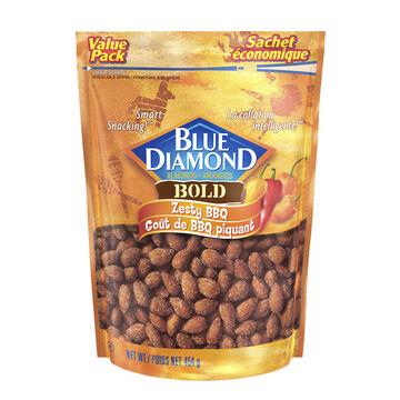 Blue Diamond Almonds - Zesty BBQ - 454g