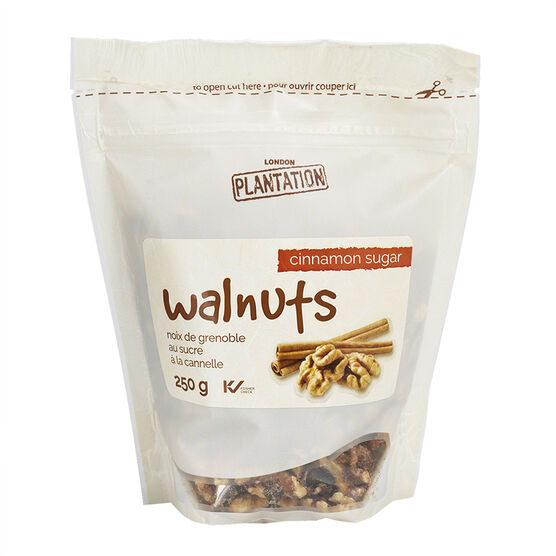 London Plantation Walnuts - Cinnamon Sugar - 250g
