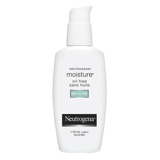 Neutrogena Moisture Oil-Free - SPF 15 - 118ml
