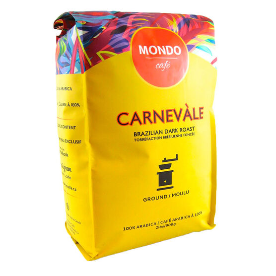Mondo Café Carnevale Ground Coffee - 908g