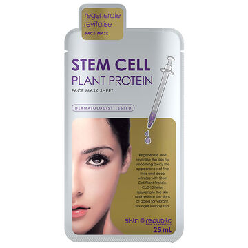Skin Republic Stem Cell Plant Protein Face Mask Sheet - 25ml
