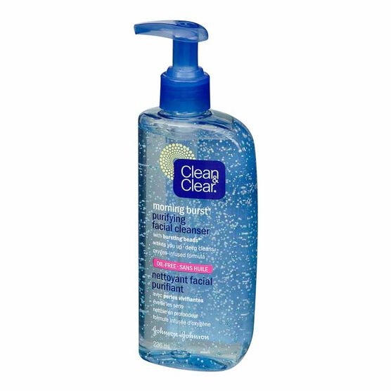 Clean & Clear Morning Burst Purifying Facial Cleanser - 236ml
