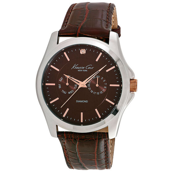 Kenneth Cole Classic Watch - Brown - 10022313