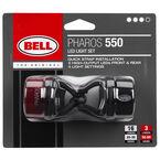 Bell Pharos 550 LED Bike Light Set