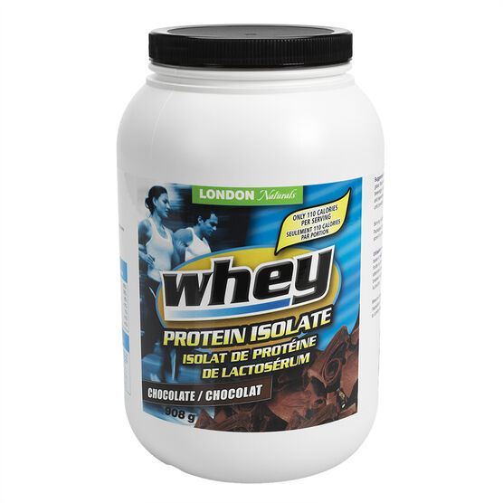 London Naturals Whey Protein Isolate - Chocolate - 908g