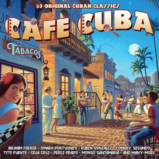 Various Artists - Cafe Cuba - 2 CD