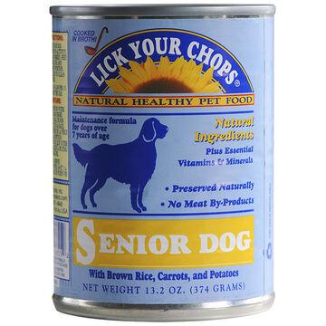 Lick Your Chops Wet Dog Food - Senior - 374g