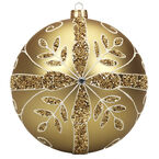 Winter Wishes Elegance Ball Ornament - Gold