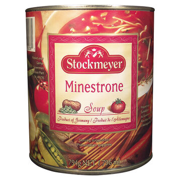 Stockmeyer Soup - Minestrone - 796ml
