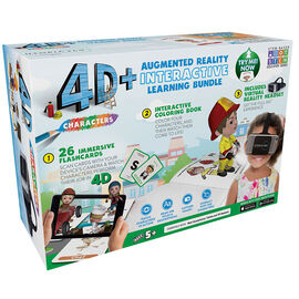 ReTrak 4D Augmented Reality Cards with VR Headset - Occupation - ETVRARABC