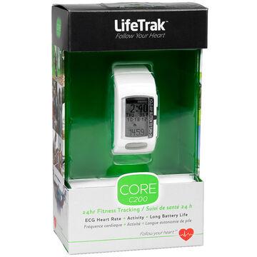 LifeTrak Core C200 Fitness Tracking Watch - White Green - LTK7C2006