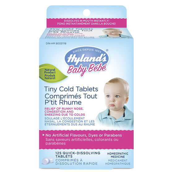 Hyland's Tiny Cold Tablets - 125's