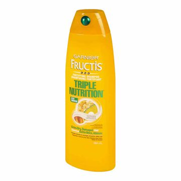Garnier Fructis Triple Nutrition Shampoo - 384ml