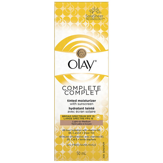Olay Complete Tinted Moisturizer with Sunscreen SPF 15 - 50ml