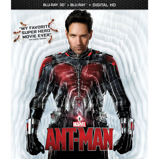 Ant-Man - 3D Blu-ray