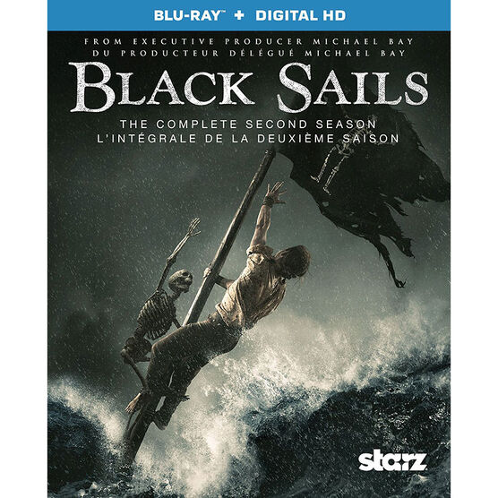 Black Sails: The Complete Second Season - Blu-ray