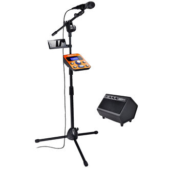 Singtrix Home Karaoke System - Black/Orange - SGTX1C