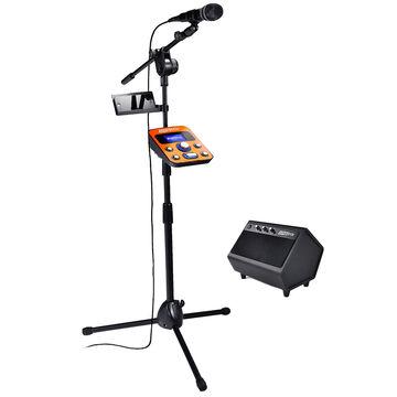 Singtrix Home Karaoke System - Black/Orange - SGTX1C