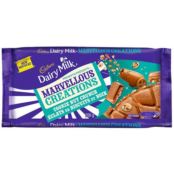 Cadbury Marvellous Creations - Cookie Nut Crunch - 200g