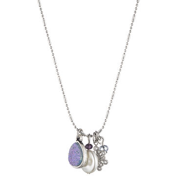 Lonna & Lilly 16-inch Shaky Pendant Necklace - Blue