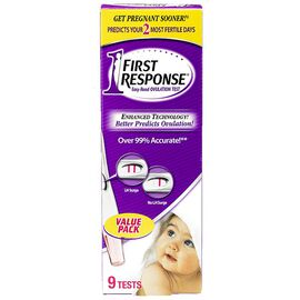 First Response Easy-Read Ovulation Test - 9 Tests