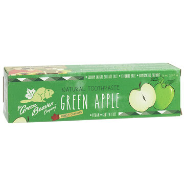 Green Beaver Natural Toothpaste - Green Apple - 75ml