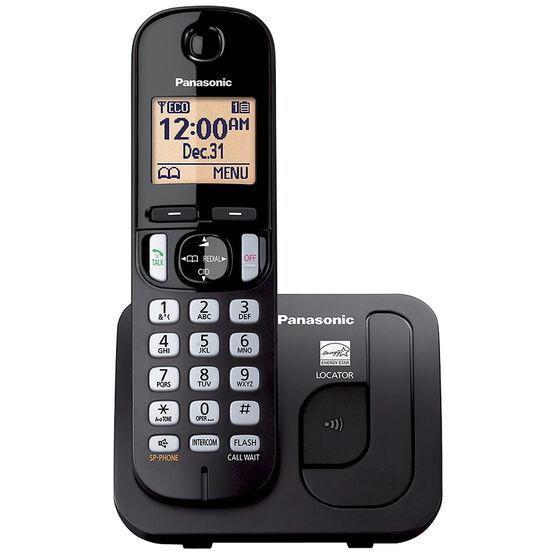 Panasonic Expandable Digital Cordless Phone with 1 Handset - KXTGC210B