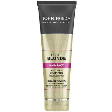 John Frieda Sheer Blonde Hi-Impact Shampoo - Restoring - 250ml